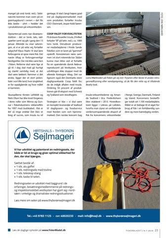 Page 25 of TEKNISK SETUP FÅR INSULA TIL AT RYKKE I HVIDE SANDE