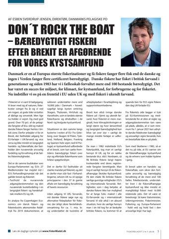 Page 5 of DON´T ROCK THE BOAT – BÆREDYGTIGT FISKERI EFTER BREXIT ER AFGØRENDE FOR VORES KYSTSAMFUND