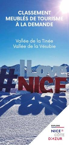 Office De Tourisme Metropolitain Nice Cote D Azur Classement De Meubles De Tourisme By Office De Tourisme Metropolitain Nice Cote D Azur Issuu