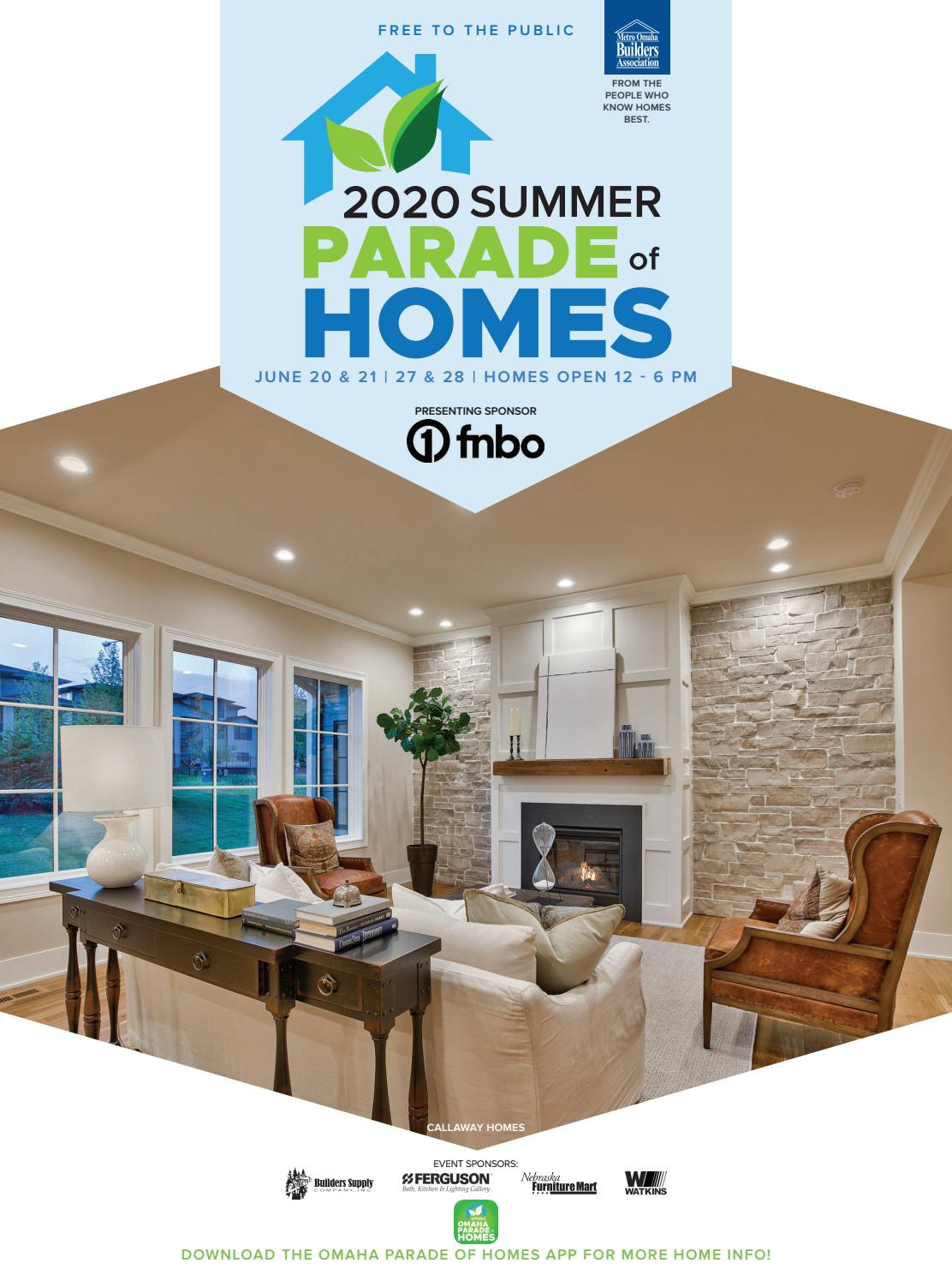 Parade Of Homes By Omaha World Herald Issuu