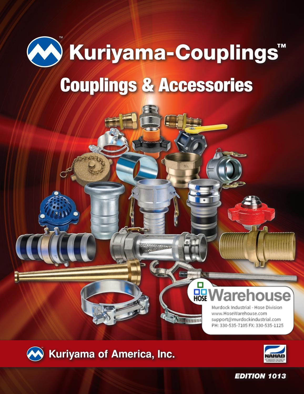 2 250 PSI Kuriyama KLOC-SS-B200 316 SS Part B Quick-Acting Coupler