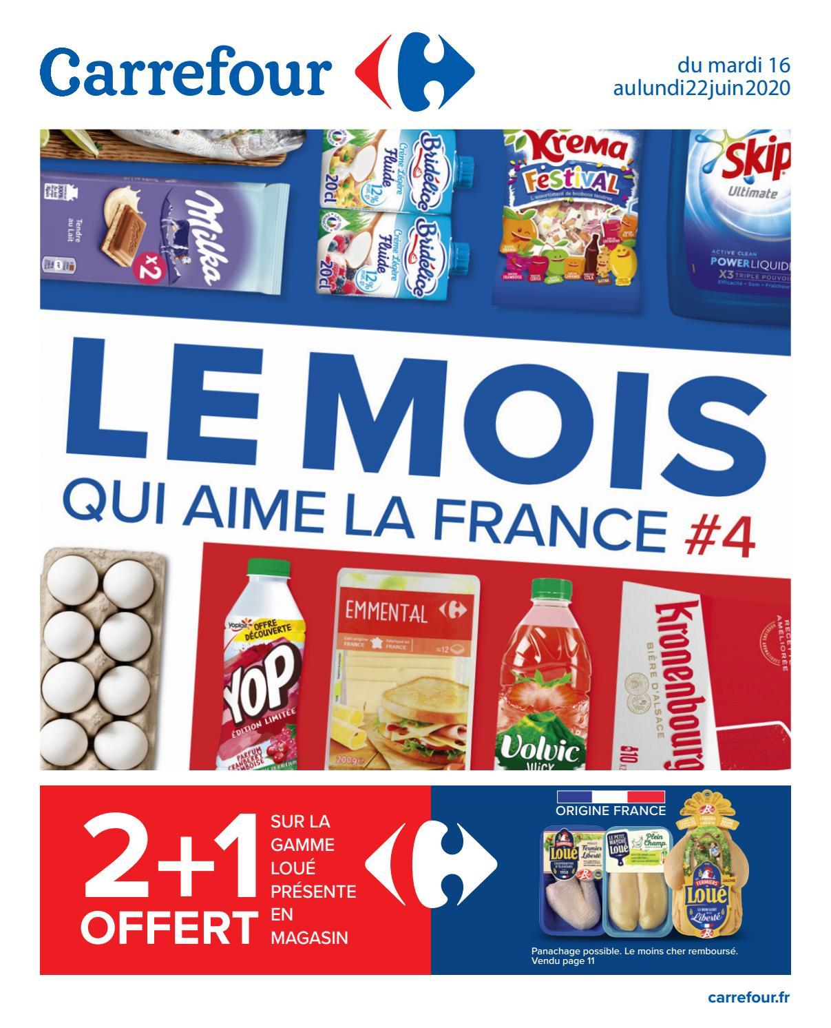 Carrefour France Catalogue Le Mois Aqui Aime La France 4 By Hmbe Catalogue Promotion Issuu