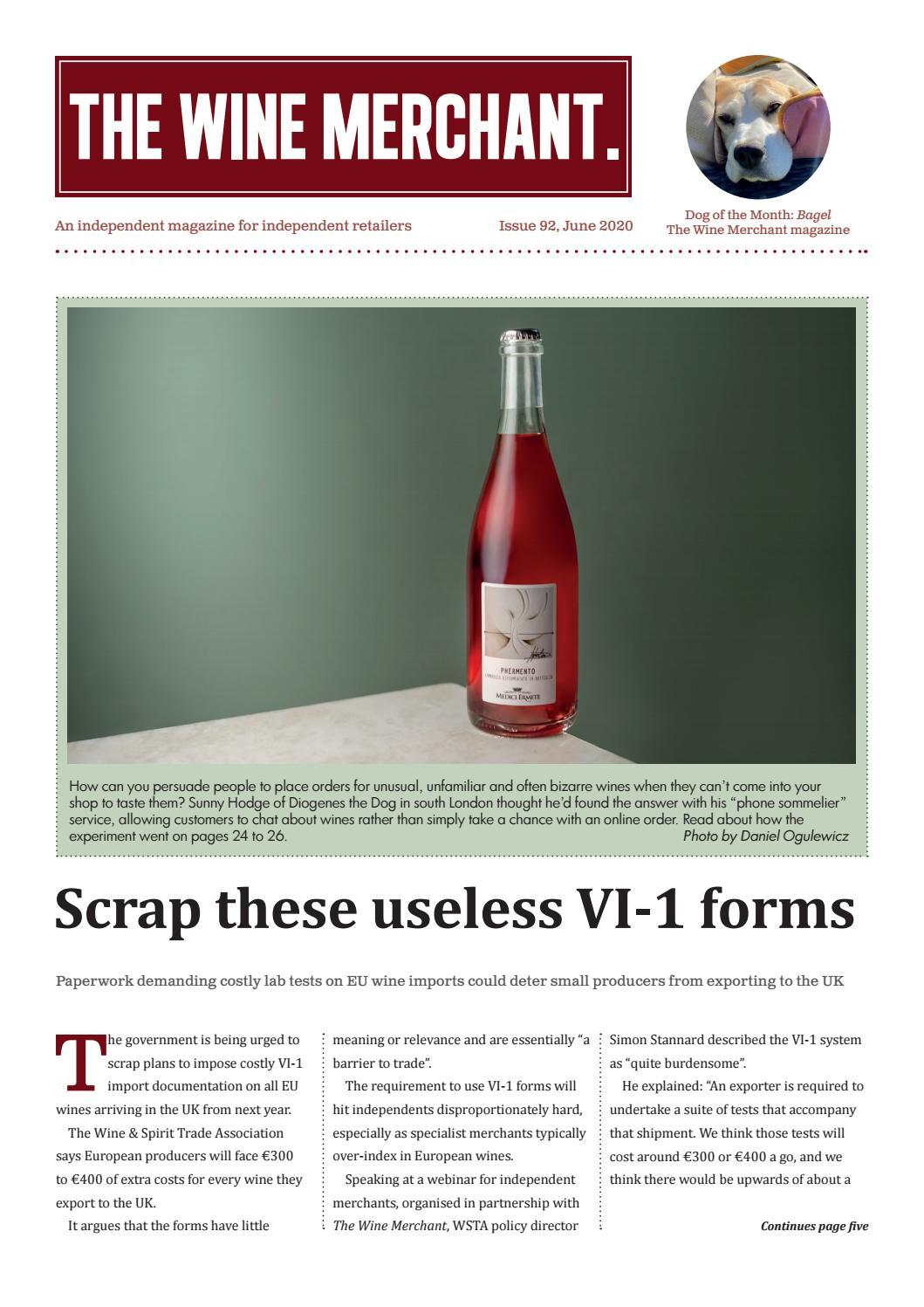 The Wine Merchant Issue 92 By The Wine Merchant Magazine Issuu