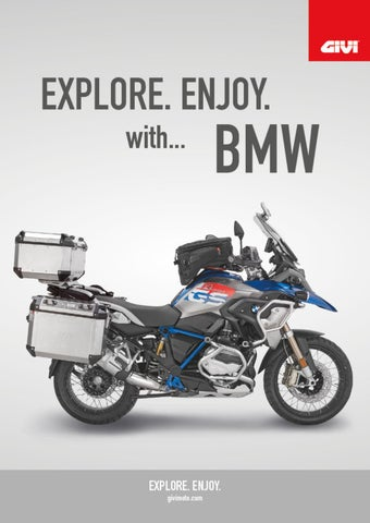 """Cover of """"GIVI. EXPLORE. ENJOY with...BMW"""""""