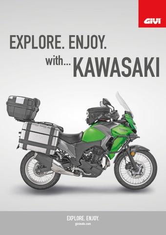 """Cover of """"GIVI. EXPLORE. ENJOY with...KAWASAKI"""""""