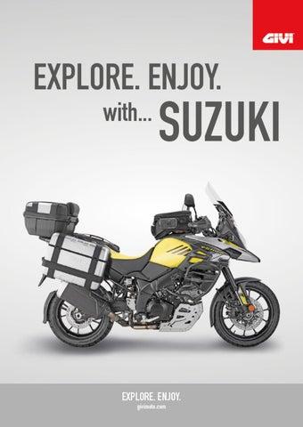 "Cover of ""GIVI. EXPLORE. ENJOY with...SUZUKI"""