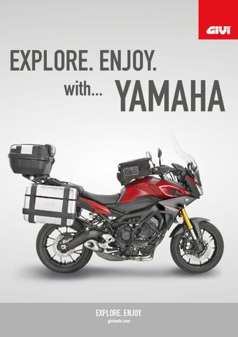 """Cover of """"GIVI. EXPLORE. ENJOY with...YAMAHA"""""""