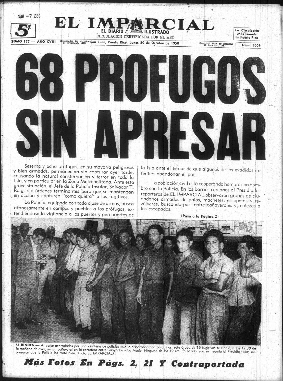 El Imparcial 30 Oct 1950 By La Colección Puertorriqueña Issuu