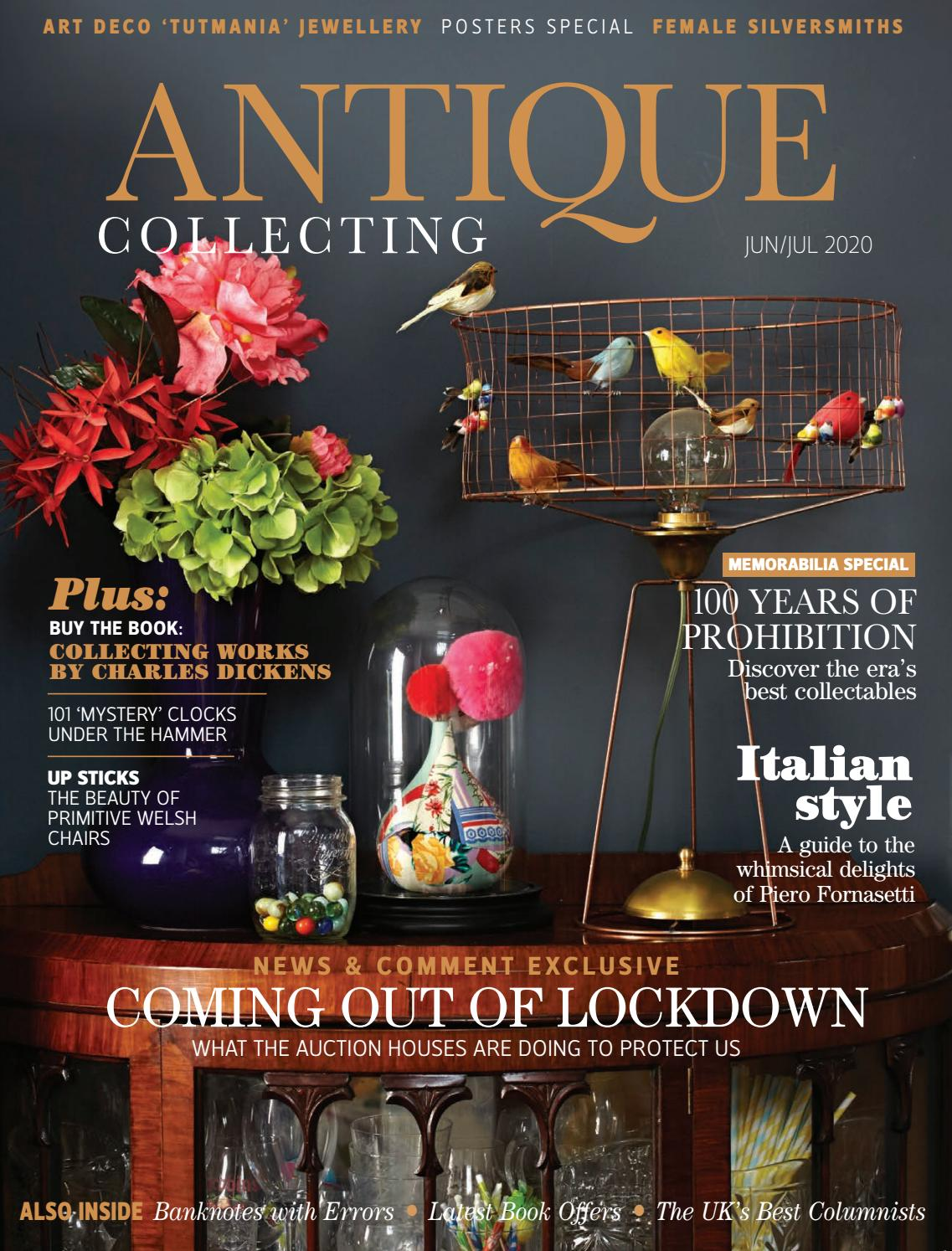 June July Issue Of Antique Collecting Magazine By Acc Art Books Issuu