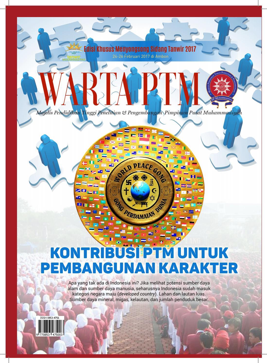 Warta Ptm Edisi Spesial Tanwir 2017 By Wartaptm Issuu