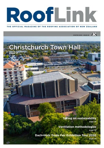 Issue 93 Rooflink Winter 2020 By The Roofing Association Of New Zealand Ranz By Marketing Ranz Co Issuu