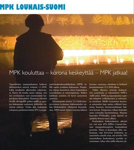 Page 14 of MPK kouluttaa – korona keskeyttää – MPK jatkaa