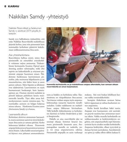 Page 8 of Nakkilan Samdy -yhteistyö