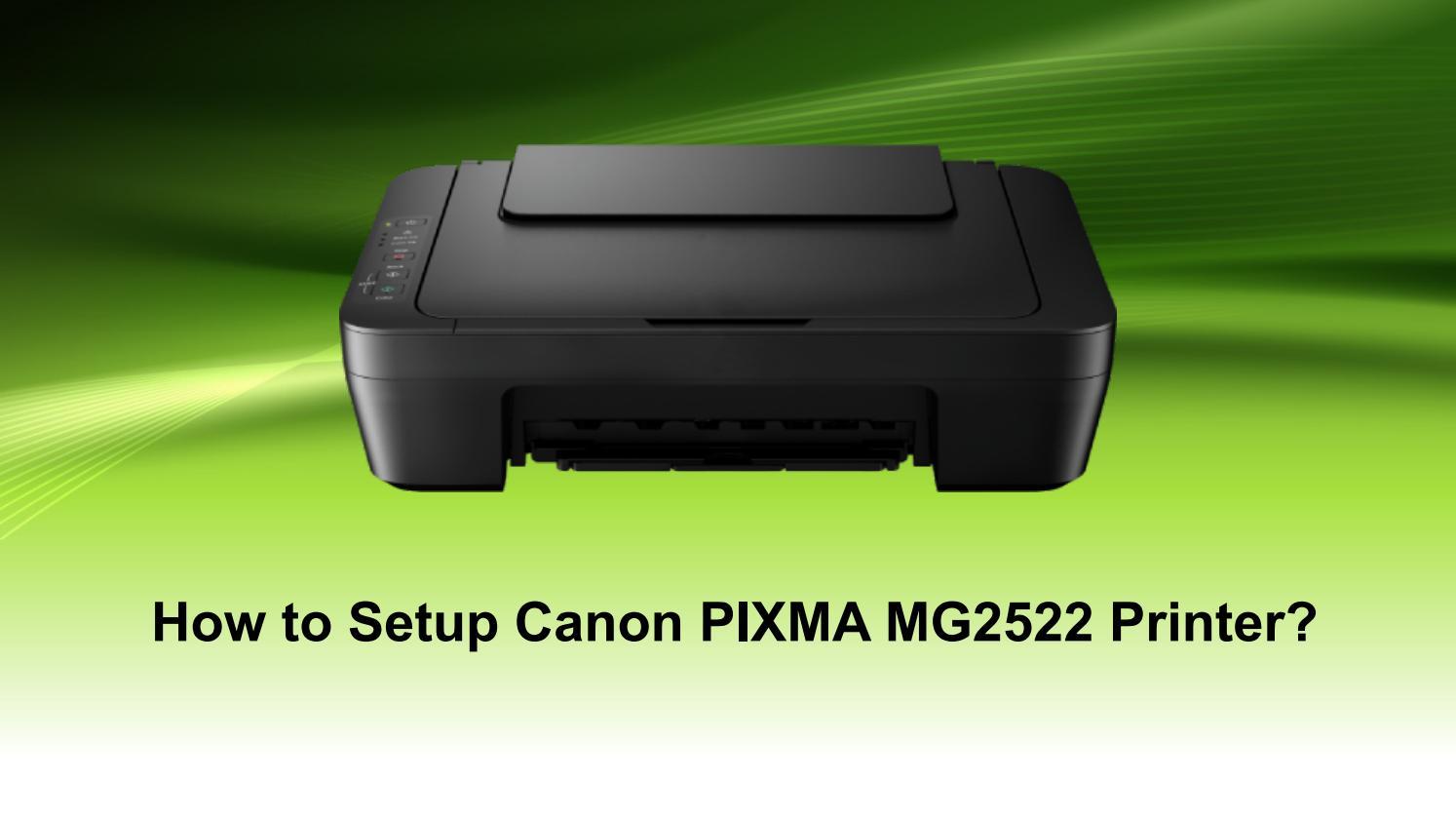 Canon Pixma mg20 Setup   Install Canon MG20 Printer Driver by ...