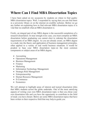 Dissertation topics on marketing management people nowadays have to work hard essay