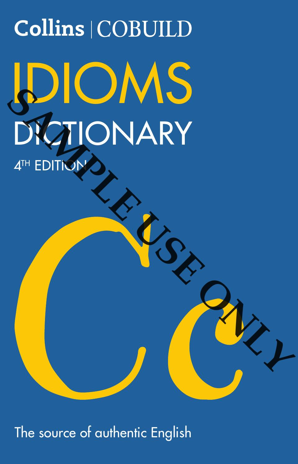 Collins Cobuild Idioms Dictionary By Collins Issuu