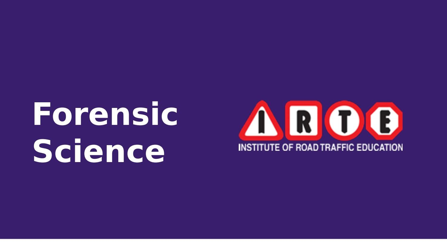 Forensic Science Courses University Colleges In India Irte By Ankita Kapadia Issuu