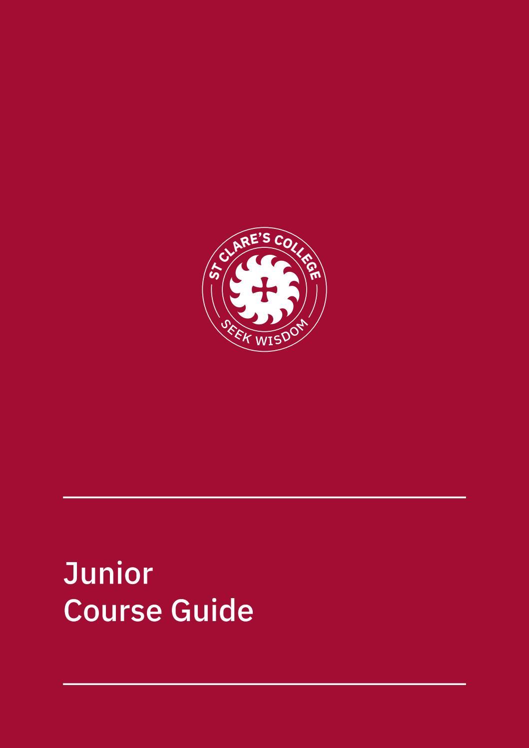 Junior Course Guide