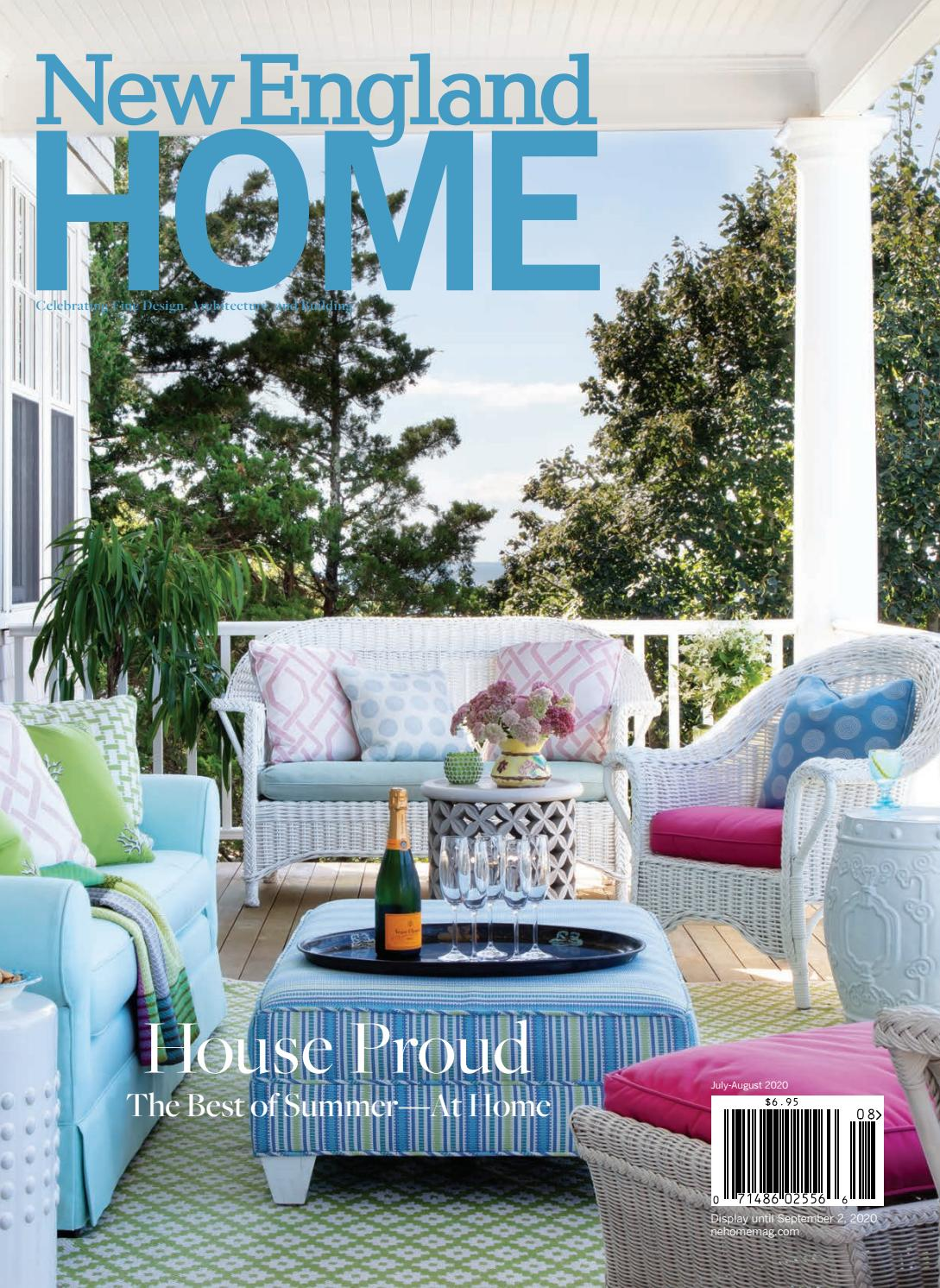 New England Home July August 2020 By New England Home Magazine Llc Issuu