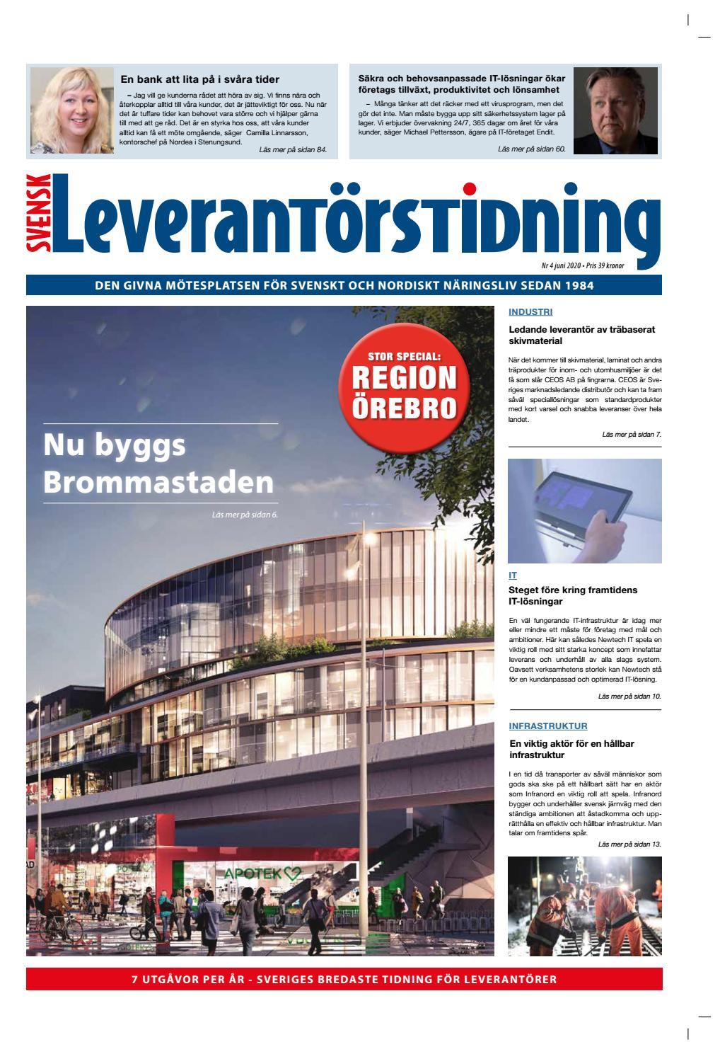 Svensk Leverantorstidning Nr 4 2020 By Hexanova Media Group Ab Issuu