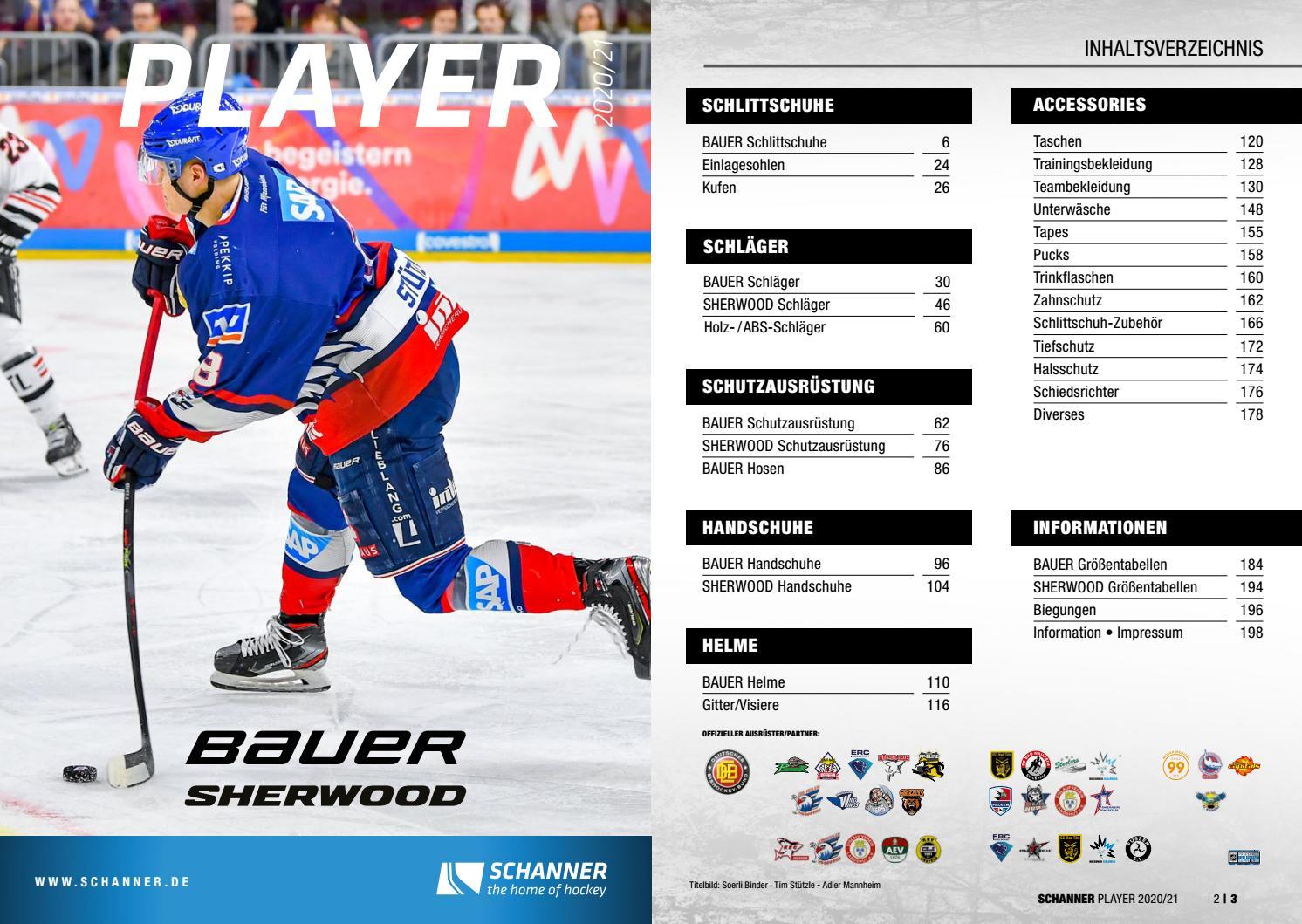 """Bauer I3000 ABS Hockey Schläger Senior 59/"""" Schläger Seite"""