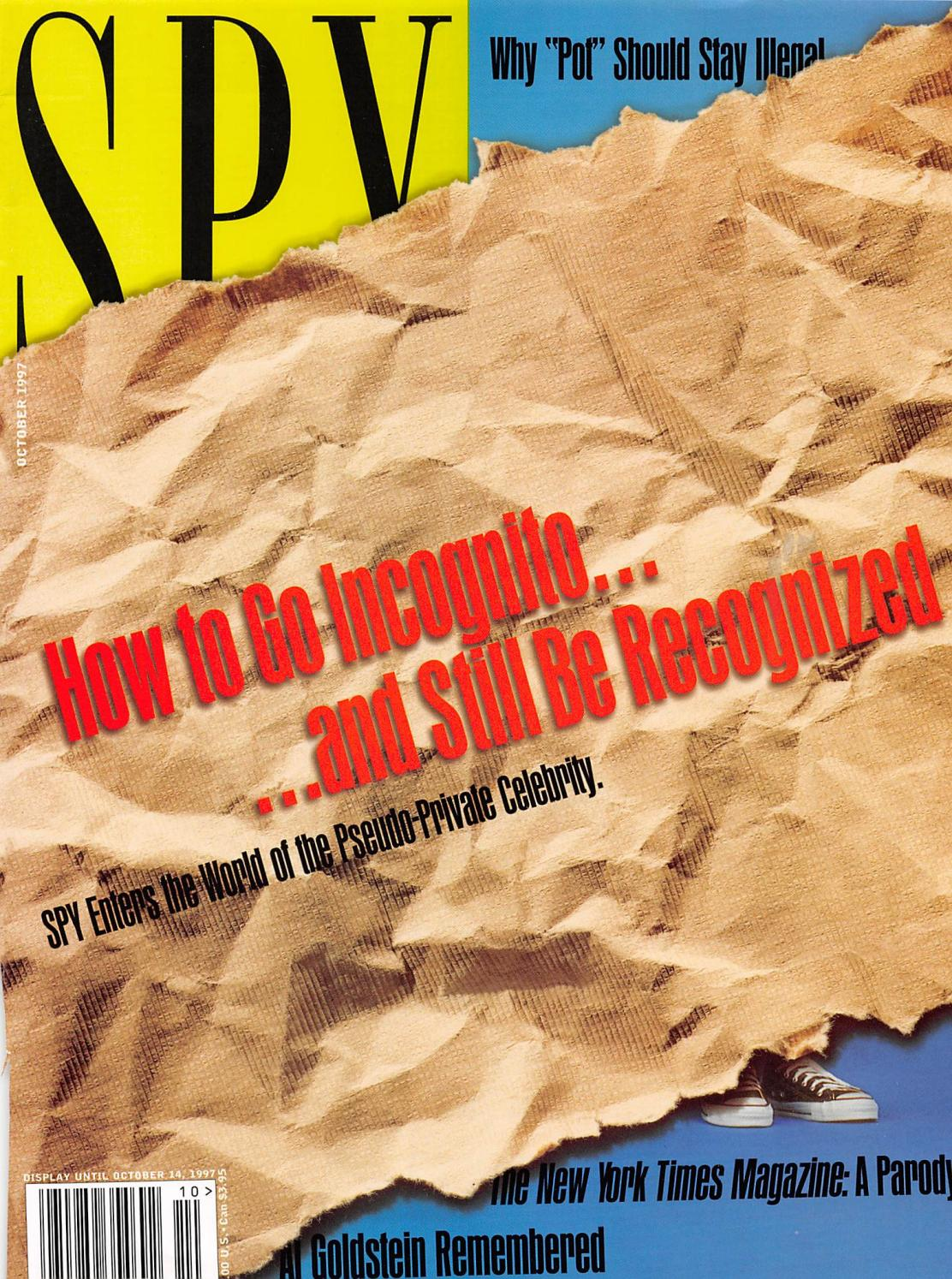 Spy Magazine October 1997 By Josh Gillette Issuu