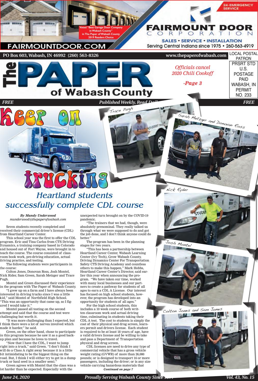 2020 Preferred Auto Ft Wayne Christmas Commercial The Paper of Wabash County   June 24, 2020 issue by The Paper of