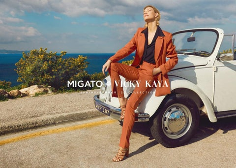 Migato. Collection - lookbook Spring - Summer 2020 «Vicky Kaya»