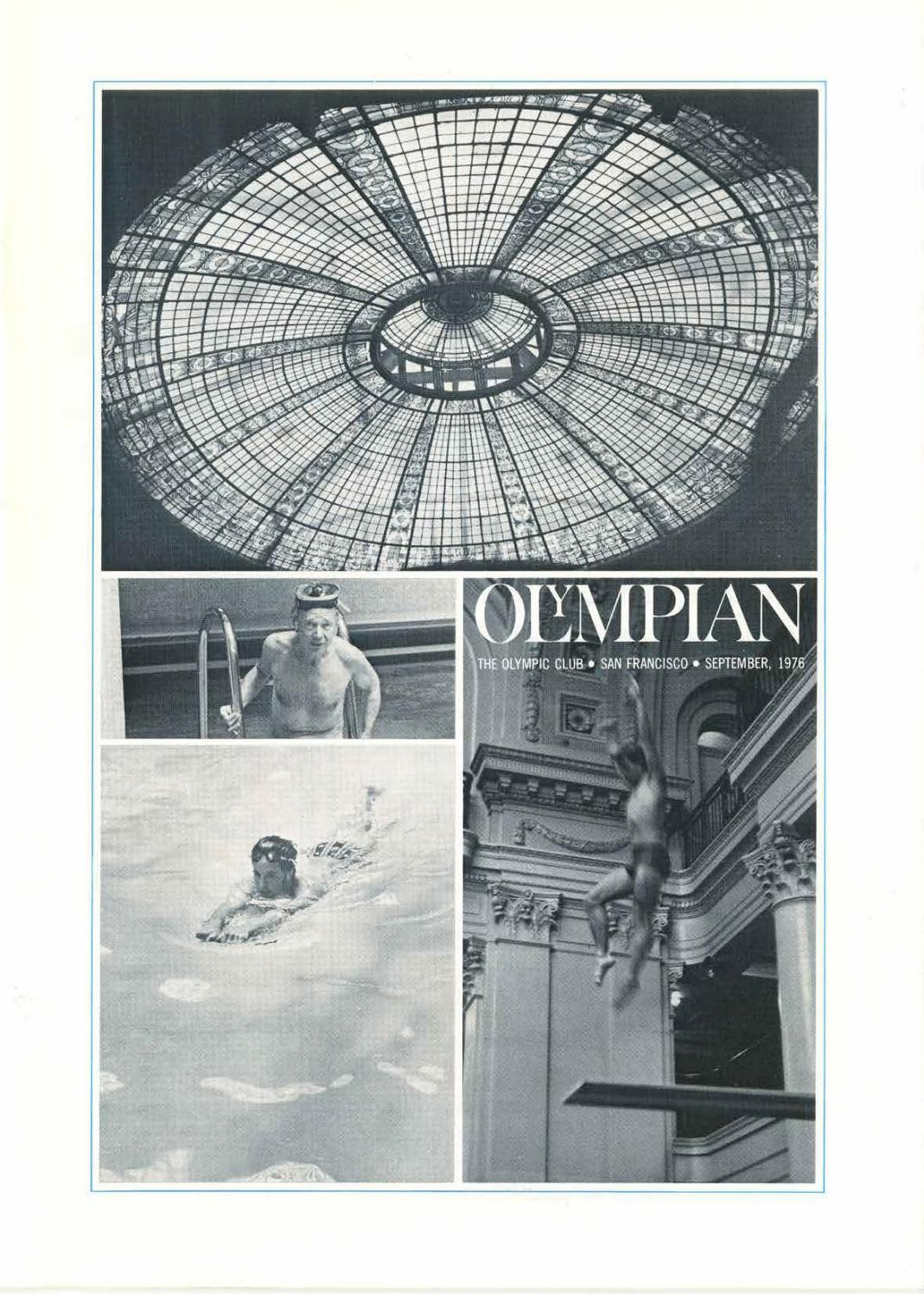 September 1976 Olympian By The Olympic Club Issuu