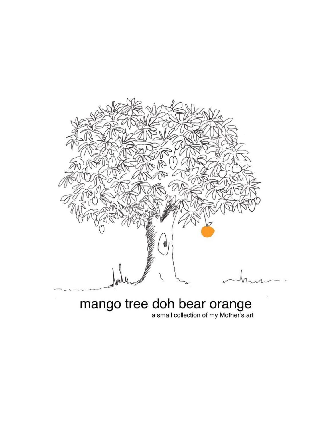 Mango Tree Doh Bear Orange By Margaret Sheppard Issuu
