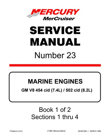 mercruiser marine engines mcm 502 mag mpi service repair manual sn0l017000  and up by ufjkdme8udud - issuu  issuu