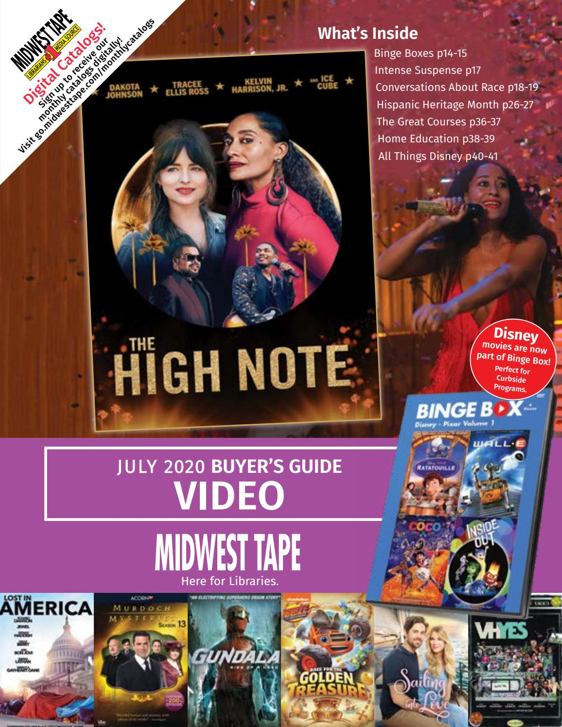 Midwest Tape July Video Catalog By Midwest Tape Issuu