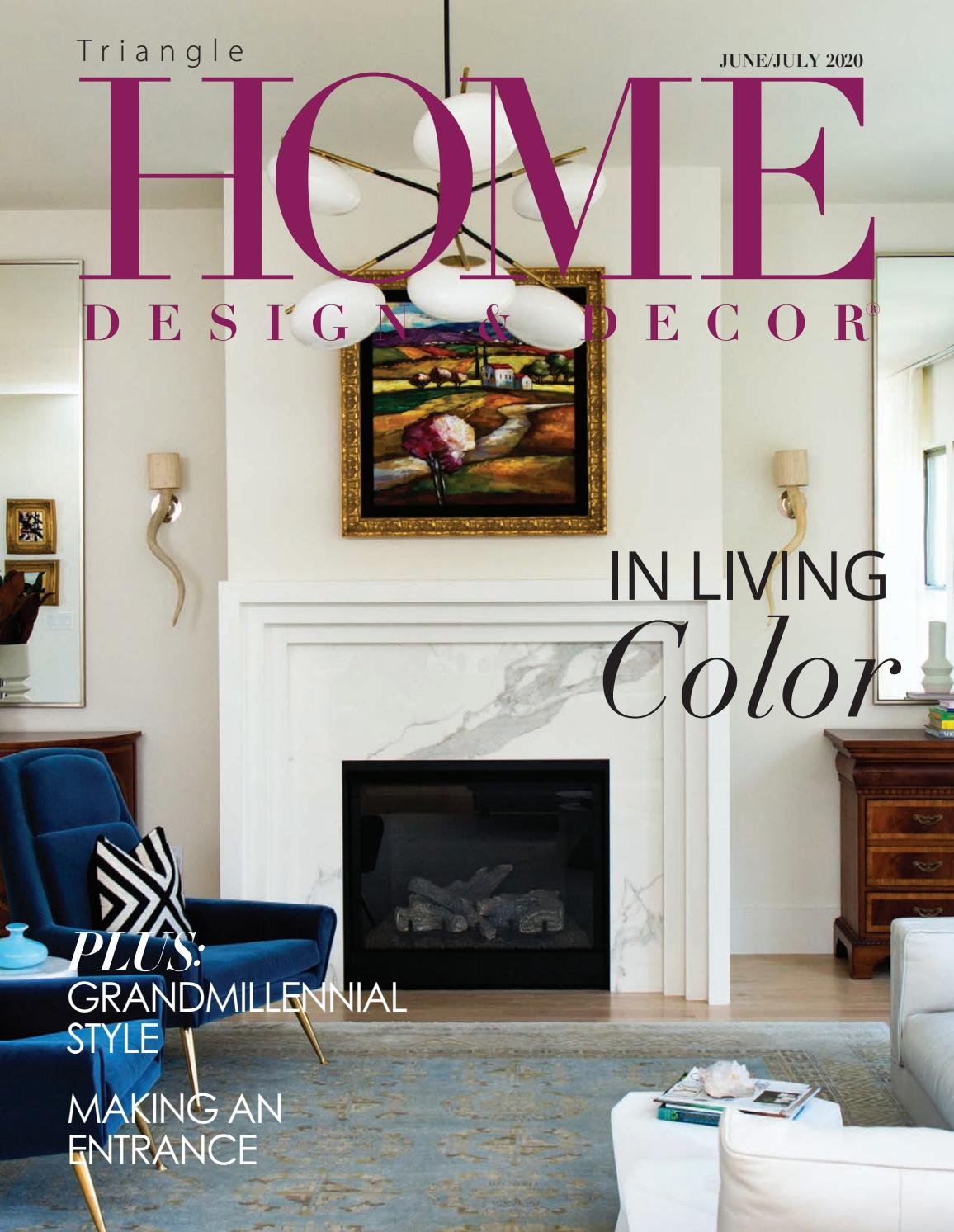 Hdd Triangle June July Issue By Home Design Decor Magazine Issuu