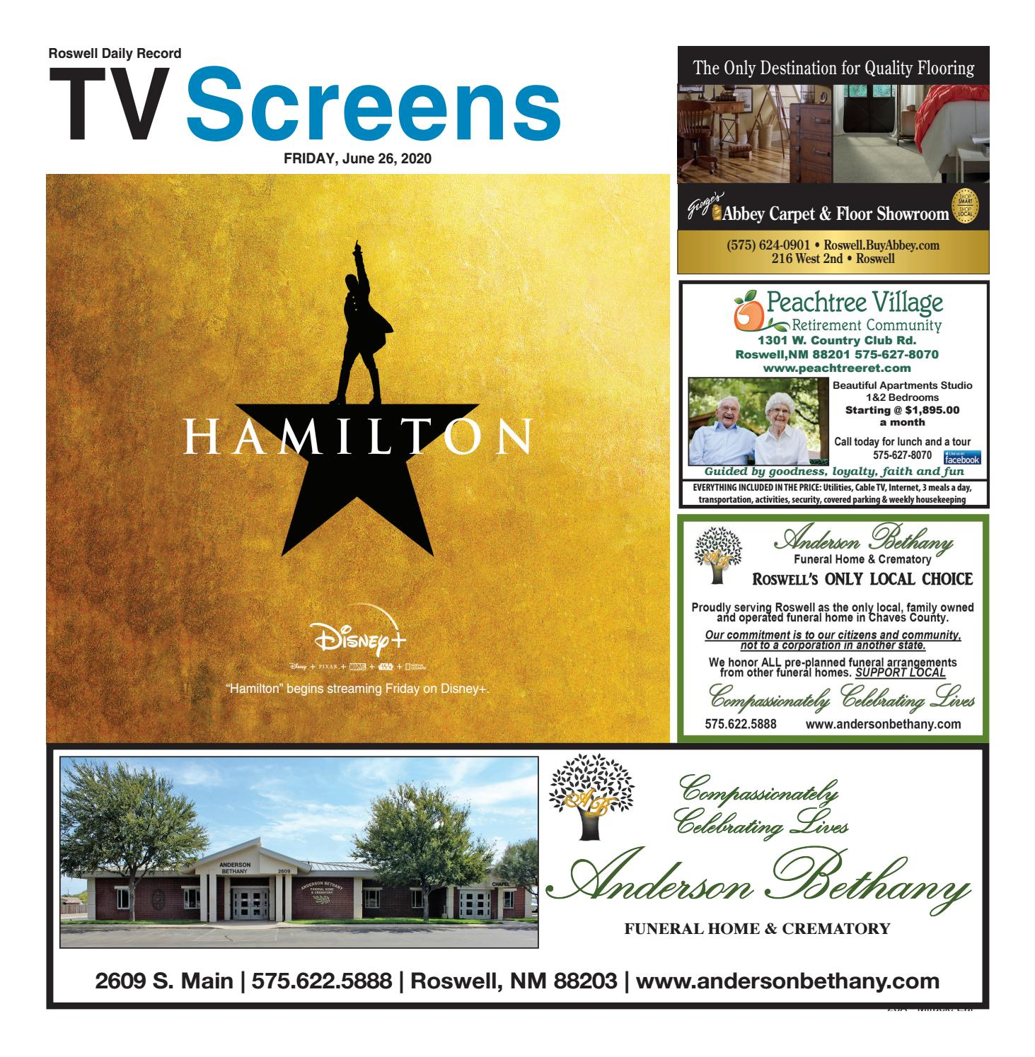 Screens 6 26 20 By Roswell Daily Record Issuu