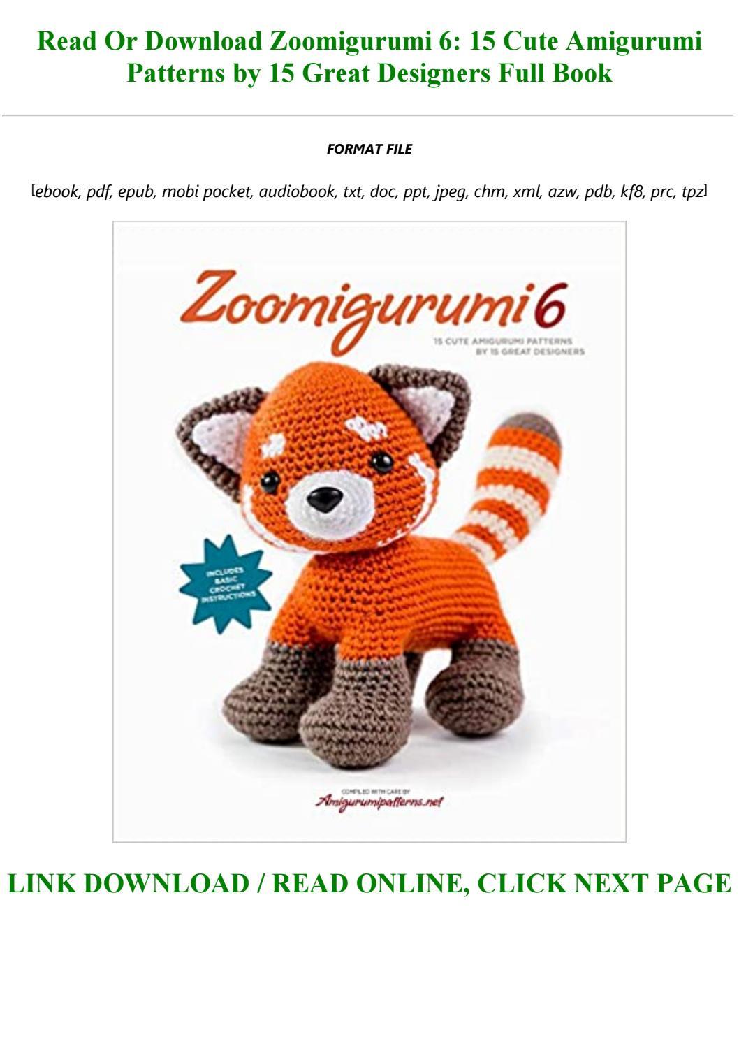 Your free eBook : 8 amigurumi patterns and tutorials ... | 1497x1058