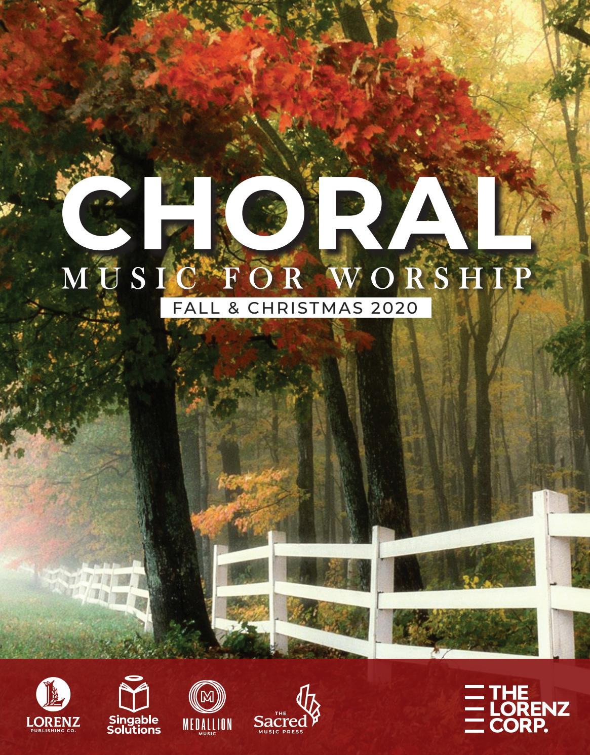 New Christmas Worship Music 2020 Fall and Christmas 2020 Choral Music for Worship by Lorenz   issuu