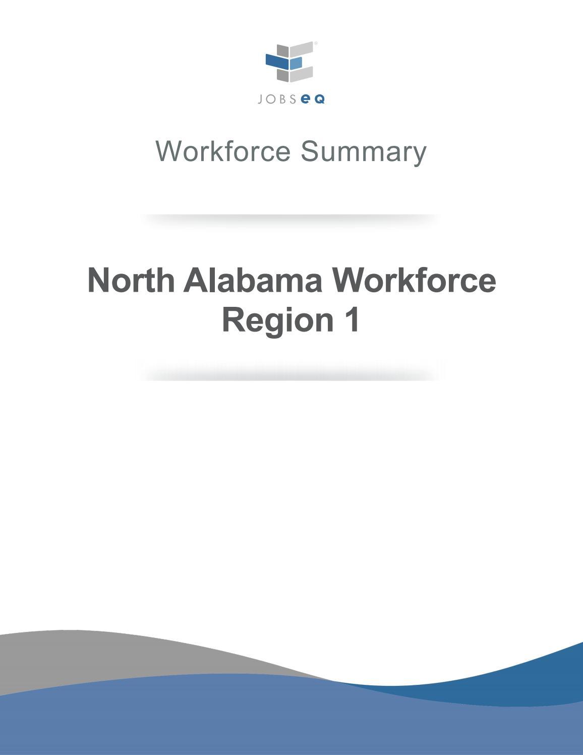 North Alabama Workforce Summary By Huntsville Madison County Chamber Issuu