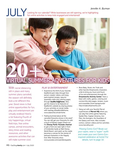 Page 46 of 20+ VIRTUAL SUMMER ADVENTURES FOR KIDS