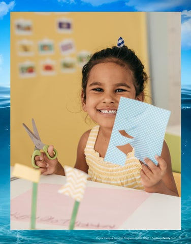 Page 5 of Virtual Summer Camp with Birch Aquarium Virtual camps bring the wonders of the ocean to your home.