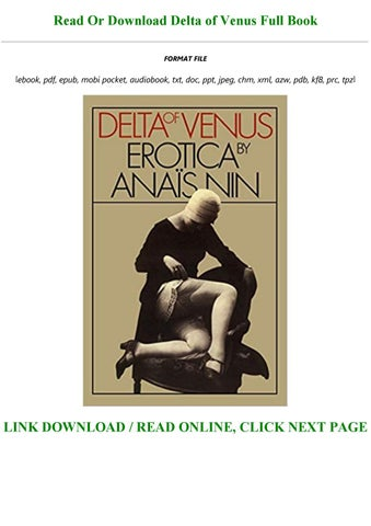 delta of venus epub free download