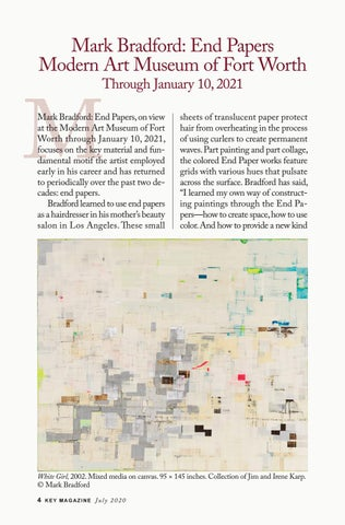 Page 4 of Mark Bradford: End Papers at the Modern Art Museum of Fort Worth