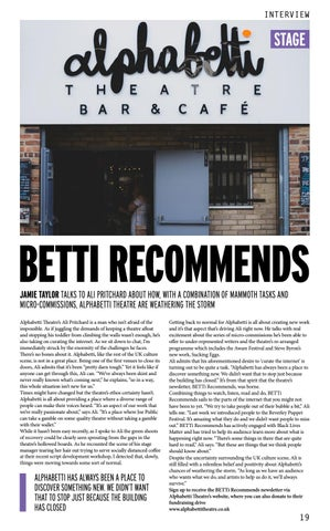 Page 19 of BETTI RECOMMENDS