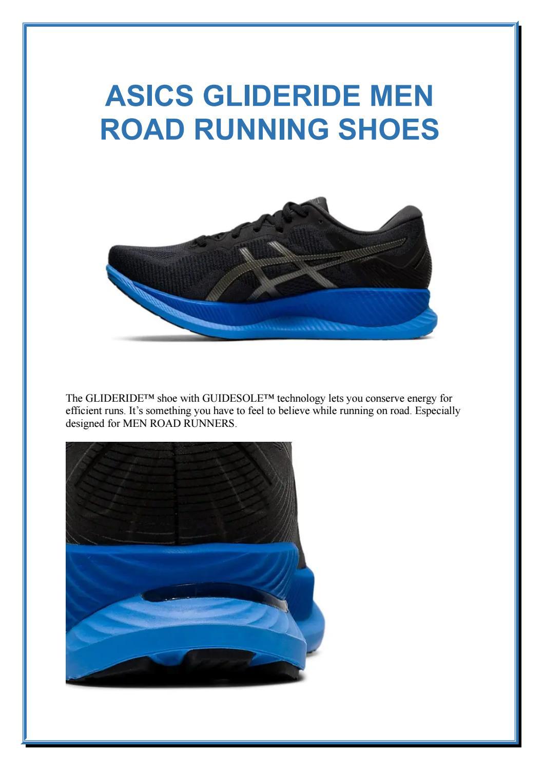 ASICS GLIDERIDE MEN ROAD RUNNING SHOES