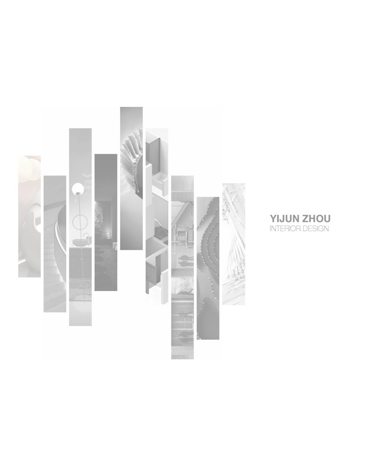 Yijunzhou Design Portfolio By Yijun Zhou Issuu