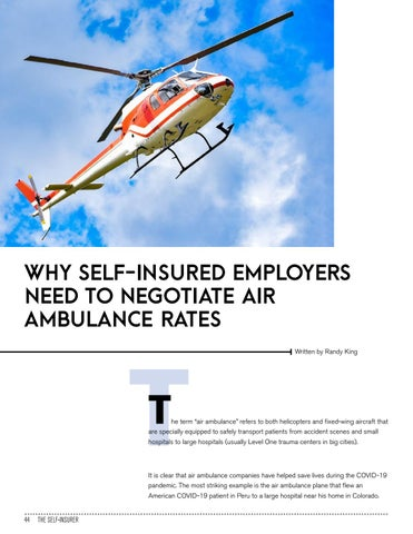 Page 44 of WHY SELF-INSURED EMPLOYERS NEED TO NEGOTIATE AIR AMBULANCE RATES