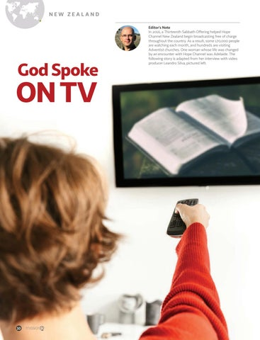 Page 10 of God Spoke ON TV