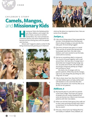 Page 12 of Camels, Mangos, and Missionary Kids