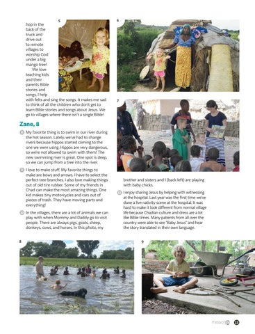 Page 13 of Camels, Mangos, and Missionary Kids