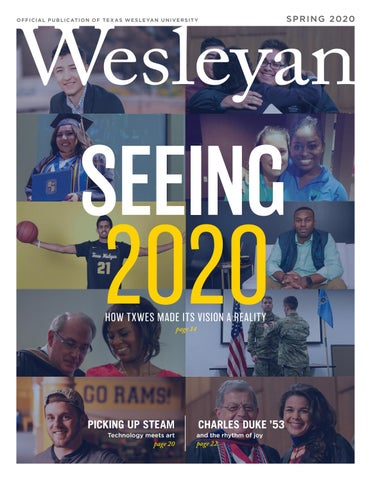Nbc5dfw 2020 List Of Christmas Gift Eyeglasses Cleaner Spring 2020 Wesleyan magazine by DeAwna Wood   issuu