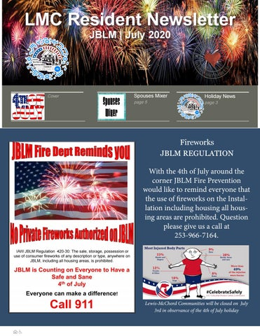 Jblm Christmas 2020 Trash Schedule Lewis McChord Communities July 2020 Resident Newsletter by Lewis